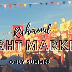 夏限定のナイトマーケットに行こう!
