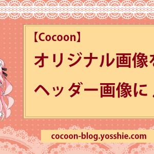 【Cocoon】オリジナル画像をヘッダー画像に設定しよう!