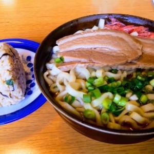 実家で昼御飯に照喜名製麺の沖縄そばを食べたって感じ(笑)・・・開南そば(樋川)