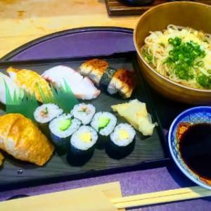 相変わらずコスパ高な寿司ランチを提供してくれる!大満足!・・・裕楽(東町)