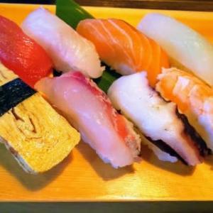 海鮮居酒屋の寿司ランチ・・・強者久茂地店