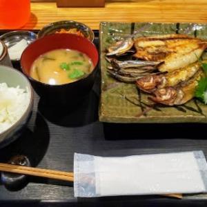 宇和島料理の干物定食が素晴らしい‼️これは夜が楽しみですよ‼️・・・酒ト旨めしちょうじ(裁判所通り)