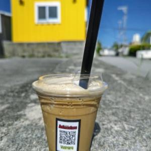 こんな場所にこんなパーラーが!!コーヒーフラぺ350円‼️素晴らしい‼️・・・パーラーTANPOPO(読谷古堅)