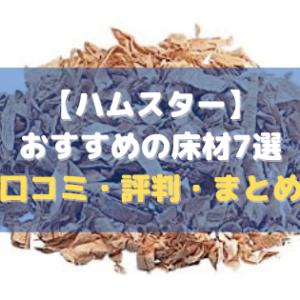 【ハムスター】おすすめの床材7選【口コミ・評判・まとめ】