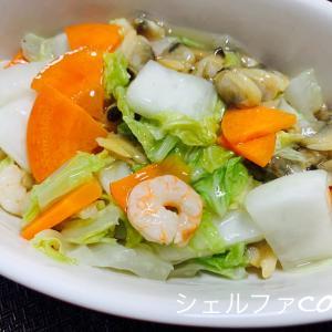 簡単に豪華料理!シーフードミックス八宝菜