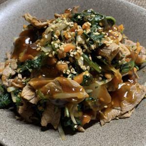 焼き肉のたれで+αで簡単味付♪野菜たっぷりプルコギ