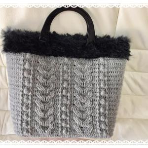 ☆ 大活躍の手編みバッグ ☆