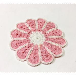 ☆ お花のコースター ☆