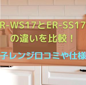 ER-WS17とER-SS17Aの違いを比較!東芝電子レンジ口コミや仕様を調査