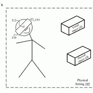 VRに没入しすぎによるケガを防ぐ発明(US2021/0081034)