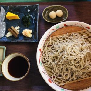 沖縄那覇新都心「目白大村庵」で日本そばランチ。香り高いそばと濃厚なつゆが美味しかった。