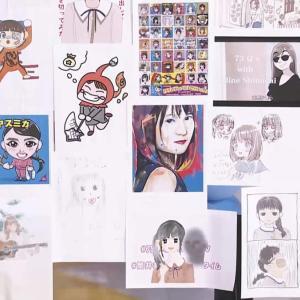【画像】乃木坂46時間TVの視聴者から届いたイラスト、どれも秀逸