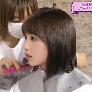与田ちゃんの切った髪の毛をゴミにしてしまうのはもったいなさ過ぎる