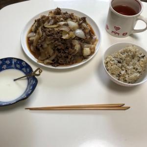 「牛肉と玉ねぎの甘辛炒め!」を作りました!