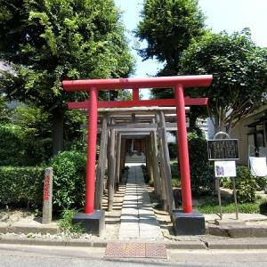 佐竹稲荷、佐竹藩江戸梅田抱屋敷跡地に行きました。東京・足立区