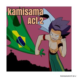 KamisamaAct2 Ep.52  Miyoshi-Ookami in Brazil
