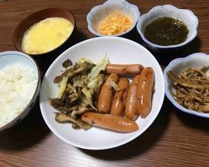 今日の晩ご飯(521):シャウエッセン