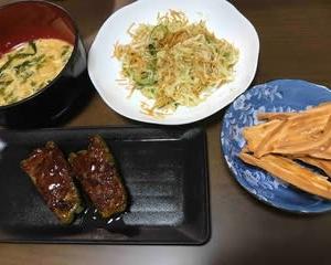 今日の晩ご飯(569):肉詰めピーマン