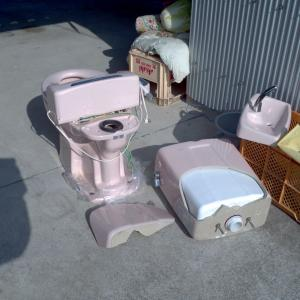 自宅介護でトイレが壊れた