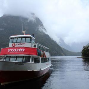 ニュージーランドでトランピング 3泊4日ミルフォードトラックを個人で歩く~4日目+クルージング~