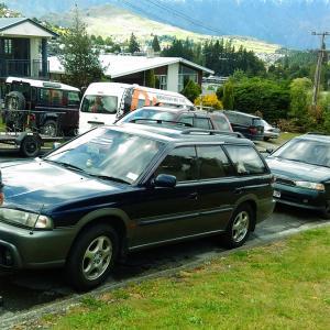 ニュージーランド冒険記 クイーンズタウンで車を買う!!