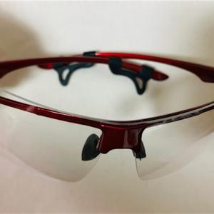 超軽量!!新しい防護メガネ買いました♪