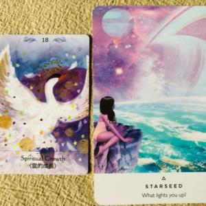 今日の一枚《二枚》霊的成長/スターシード