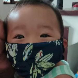 ジェームス君のマスク