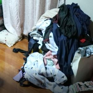 寝室&クローゼットの現状【before→after】