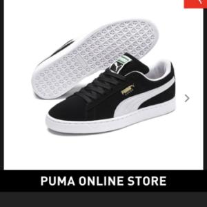PUMA スウェード購入しちゃいました。