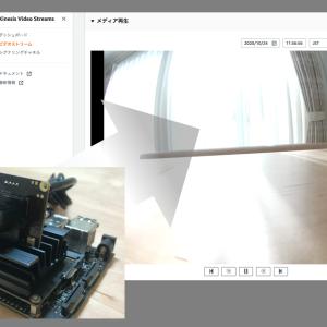 Jetson nanoで撮影した動画をAmazon Kinesis Video Streamsに配信してみる