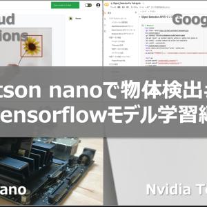Jetson nanoで、オリジナルの学習モデルを使った物体検出[2/5]   〜Google Colabを使ったTensorflowモデルの学習〜