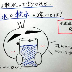 【2020年6月4日】日本は軟水って言うけれど…硬水と軟水の違いとは?〜水道週間特集②〜