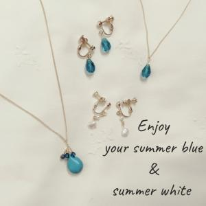Enjoy your summer blue & summer white✨