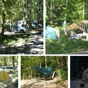 今までに行ったキャンプ場の紹介!