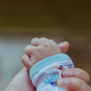 赤ちゃんの手の中には・・・