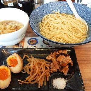 夏季限定の白醤油つけ麺、あっさり優しい昆布の風味!|小川流 八王子みなみ野