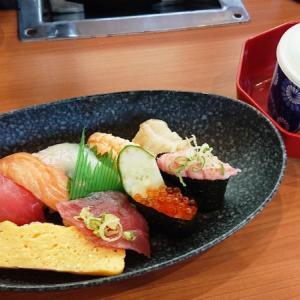 待望の復活!くらランチ♪ 握りも天丼も高コスパ|無添 くら寿司