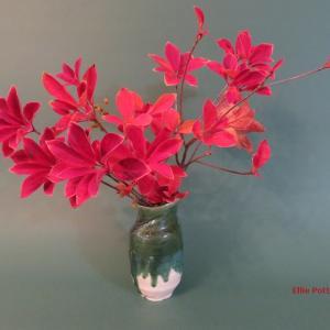 花瓶 サラサドウダン Vase:Enkianthus campanulatus