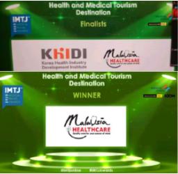 マレーシア、医療観光先世界一に選ばれる。