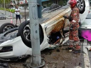 ジョホールで発生した死亡事故、無免許運転の加害者を逮捕。