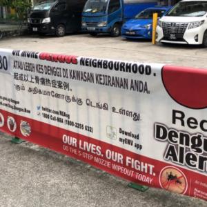 シンガポール国内のデング熱感染者、死亡者過去最高を記録。