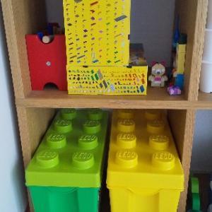 レゴブロックの収納