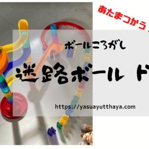 3歳以上対象 子供のおもちゃ 迷路ボールドミノ(MAZE BALL DOMINO)