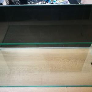 [水槽]黒のバックスクリーンも100均グッズでいい感じに