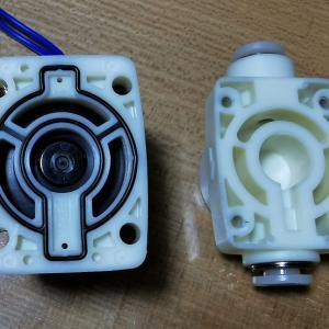[水槽]壊れた電磁弁を分解して修理したはなし