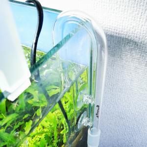 [水槽]給水パイプが割れたので格安ガラスパイプを購入しました