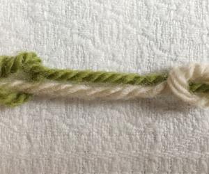 5種類の結び玉、見た目の比較