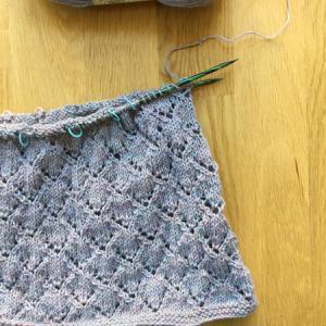 一玉分、編み終わりました ~Halcyon