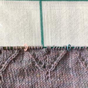 ナップ編み Nuppsに大苦戦し、分かったコツ ~Magnolia